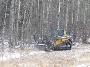 Nov 2014 Brushing on RR 281 north Twp 470