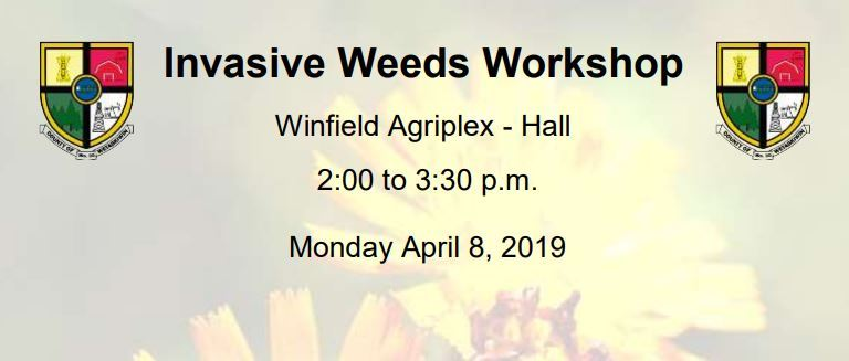 invasive weed control workshop