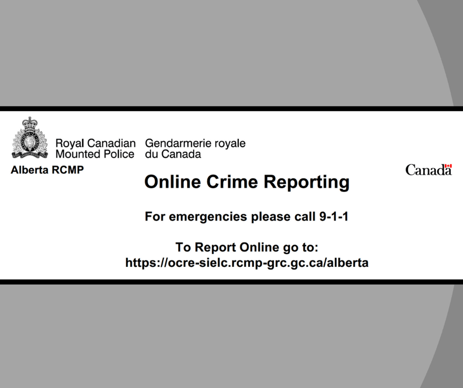 RCMP Crime Reporting