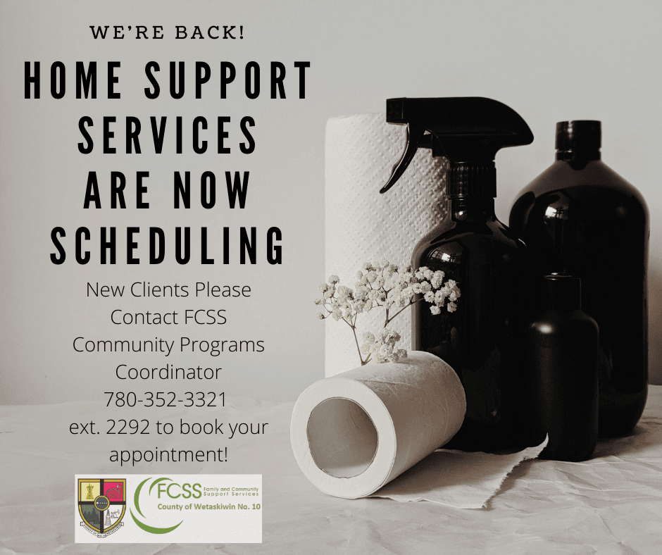 Home Support Services are Back!