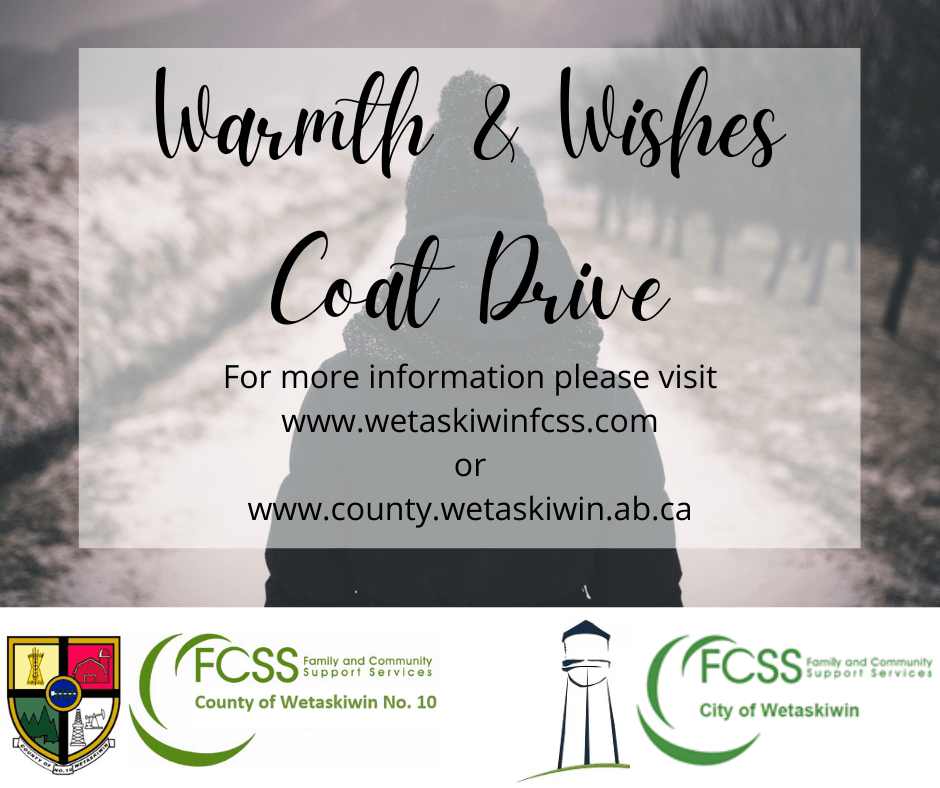 Warmth  Wishes FB Coat Drive ad