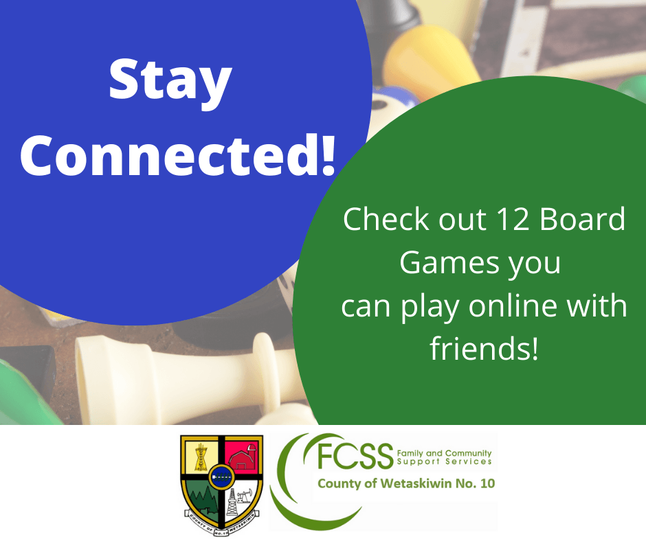 Stay Connected Online Board Game