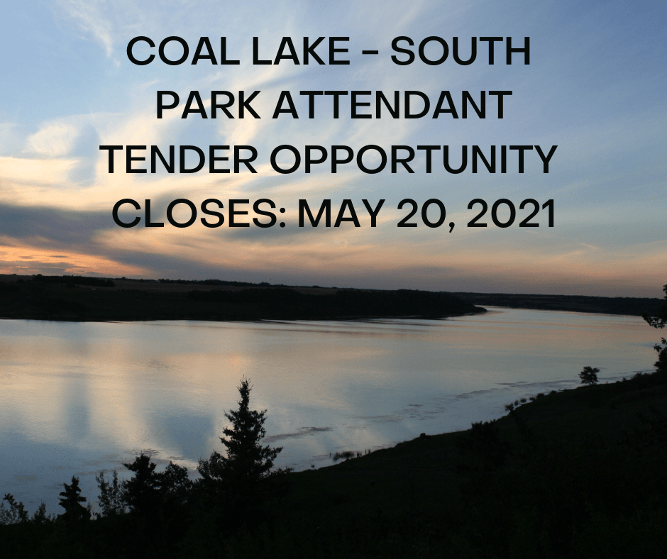 COAL LAKE - SOUTH PARK TENDER OPPORTUNITY