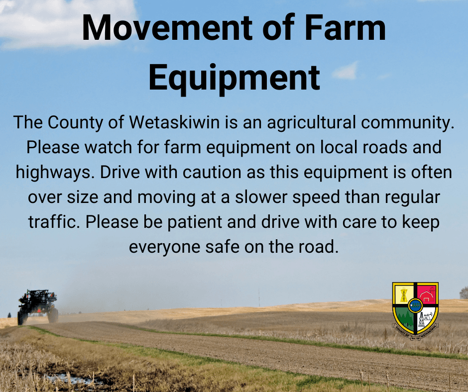 Movement of Farm Equipment